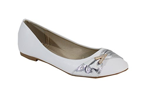 Cuir Style Femme Plate By Ballerine Shoes PtXwOnqIxA