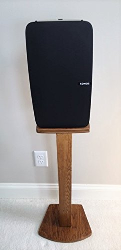 Beautiful Black Wood Single Speaker Stand Handcrafted for SONOS PLAY 5 2nd Gen