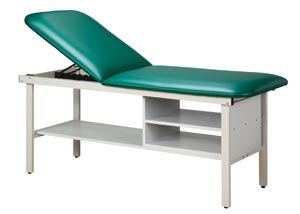 - Pro Advantage P273630 Straight Line Treatment Table, All Steel Frame Laminated Shelf, Storage Compartment & Adjustable Backrest, Paper Dispenser Included, Length 72