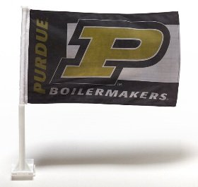 (BSI Purdue Two Sided Car Flags)