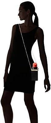 Buenocn Women Acrylic Black Lipstick Shape Evening Bags Purses Clutch Vintage Banquet Handbag Ls5672