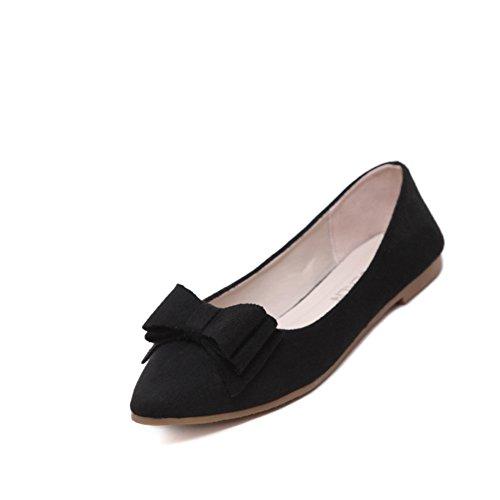Primavera punto zapatos planos luz/Plano arco zapatos de trabajo A