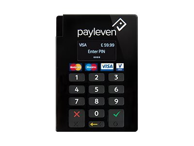 CHIP/PIN BT CARD READER RETAIL PAYLEVEN 5060350030152