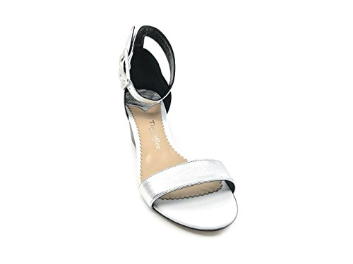 Silver The Fashion Sandals Women's Seller wgIqOY4