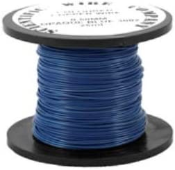 OPAQUE BLUE Craft And Jewellery Making Copper Wire 15 Metres 0.5mm Coil W5002