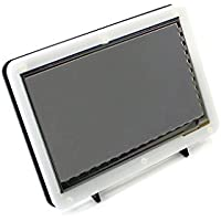 Waveshare 7inch HDMI LCD (B) Capacitive Touchscreen LCD Display HDMI Interface Custom Raspbian Angstrom Various Systems for Raspberry Pi B/B+/2 B/3 B/3B+ BB Black Banana Pi with Bicolor Case