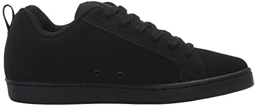 Pictures of DC Kids Youth Court Graffik Skate Shoes Black/Black/Black 3