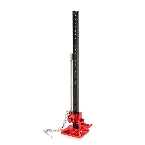 XuBa 1/10 Scale RC Car Hi-Lift Jack Tool for RC4WD D90 SCX/10 Rock Crawler Parts