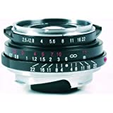 Voigtlander Color-Skopar Pan 35mm f/2.5 Wide Angle Manual Focus Lens - Black