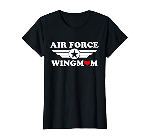 Womens Funny Air Force Wingmom Shirts Mom Gifts