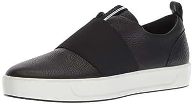ECCO Women's Soft 8 W Shoes, Black, 35 EU