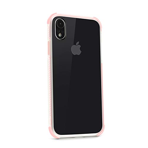 UNIYA iPhone XR 6.1 inch Case, Slim Fit Ultra Thin Protection TPU +TPE Series (Pink)
