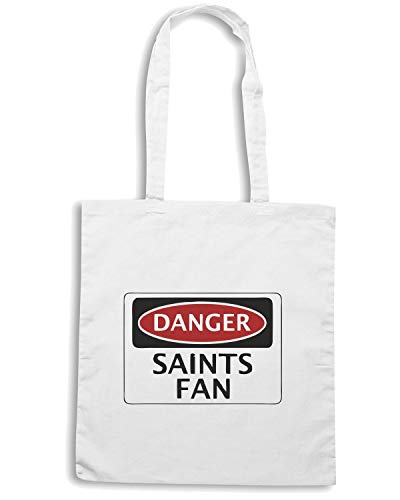 FOOTBALLU Borsa SOUTHAMPTON WC0308 DANGER ST Bianca FAN ALBANS CITY Shopper SAINTS Rq6vgRnZw