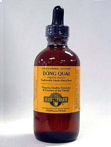 Dong Quai Extract, 4 Oz by Herb Pharm (Pack of 6)