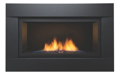Deluxe Direct Vent Fireplace - Sierra Flame See-Thru Direct Vent Linear 36
