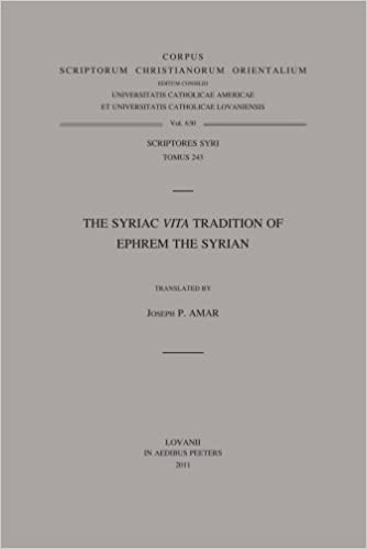 Book The Syriac Vita Tradition of Ephrem the Syrian (Corpus Scriptorum Christianorum Orientalium)