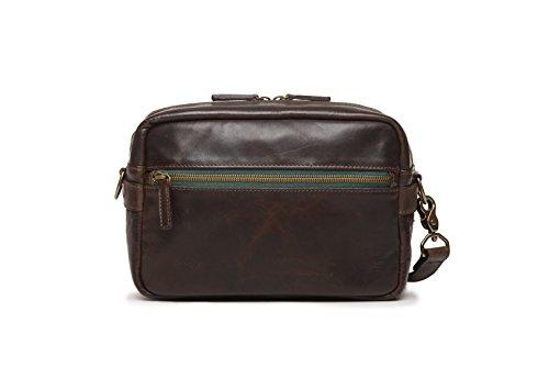 ONA - The Crosby - Camera Shoulder Bag - Dark Truffle Leathe