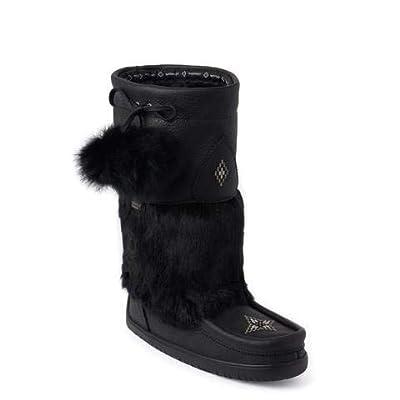 Manitobah Waterproof Snowy Owl Grain Mukluk Womens