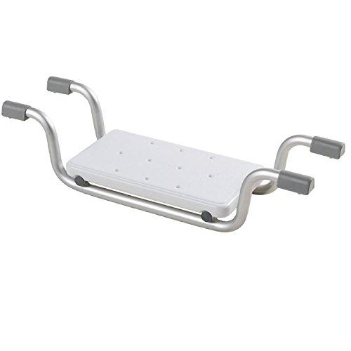 Badewannen-Sitz mit Aluminium-Gestell