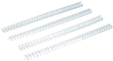 "100pk Free Shipping New Silver 3//16/"" 3:1 Pitch Twin Loop Wire"