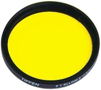 Yellow Tiffen 52mm 8 Filter