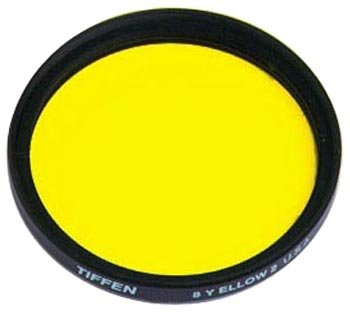Tiffen 438Y2 43mm 8 Yellow 2 Filter