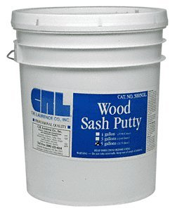 CRL 5 Gallon Wood Sash Putty by CR Laurence
