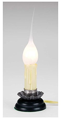 Small Electric Country Candle Lamp, Silicone Bulb, w/ on/off switch-#6201-83