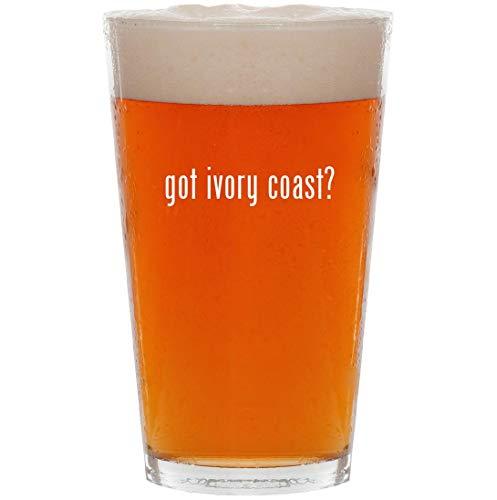 got ivory coast? - 16oz All Purpose Pint Beer Glass