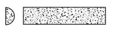 Sharping File, Half Rd, A/O, Org/Brn, Med