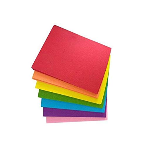 Maykang 56pcs 8x10 Inch(20.4x25.5cm) Assorted Colors Non Woven Fabric Felt Sheets Patchworks Sewing Square DIY Crafts 1mm Thick
