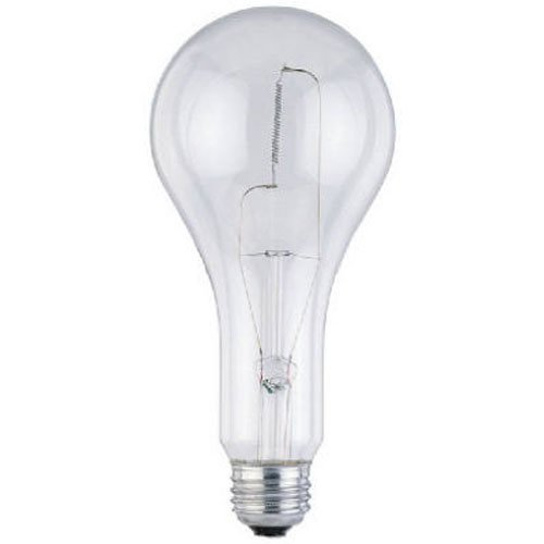 Westinghouse Lighting Corp 03974 300-watt Light Bulb, Clear 300w Incandescent Bulb