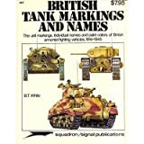 British Tank Markings and Names, B. T. White, 089747080X