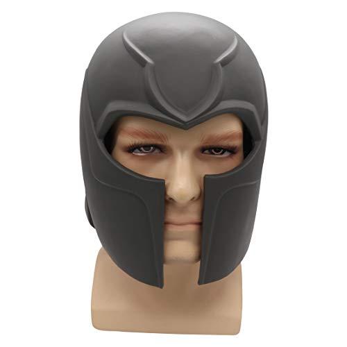Bulex 2019 Magneto Helmet PVC Men Halloween Costume Party Mask for Adult (Black)