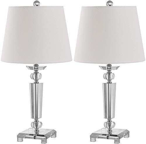 Safavieh Lighting Collection Imogene Crystal 23-inch Table Lamp (Set of 2) ()