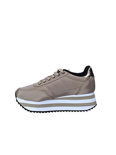Deportivo Plataforma Beige Victoria Sneaker Raso Adulto – Unisex Taupe Rw0dnx
