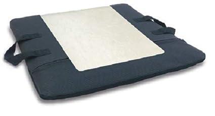 Cojín Antiescaras Plano en gel de poliuretano. 42x42x7 cm. Se adapta a silla de