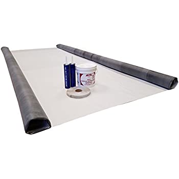 Amazon Com 5ft Epdm Rv Rubber Roof Kit Camper Rubber