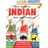 How to Draw Indian Arts and Crafts, John Meiczinger, 0816715378
