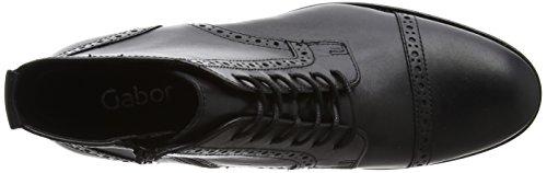 Negro Botas Mujer para Gabor Shoes Gabor Schwarz Fashion wqBPPY