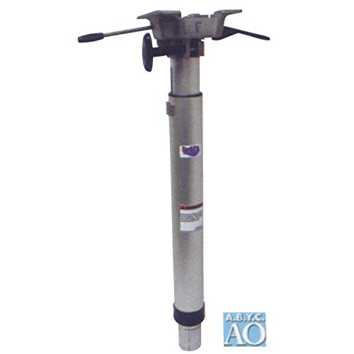 "attwood 238833LSM1 LakeSport 238 Series Hydraulic Power Pedestal with Seat Mount - 25""-32"" Adjustable Height"