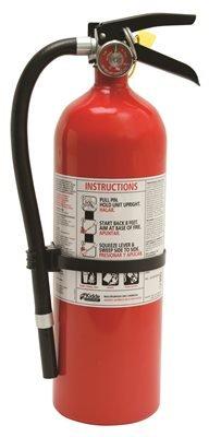 Kidde FIRE Extinguisher PRO 10 LB Multi-Purpose 4A:60BC Rechargeable ()