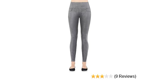 cd8158abb6373c SPANX Women's Wax Denim Leggings at Amazon Women's Clothing store:
