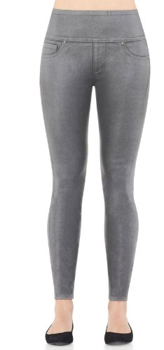 SPANX Womens Wax Denim Leggings product image