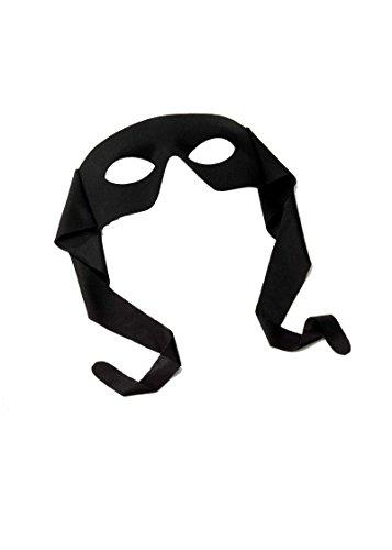 73531 Large Masked Man Mask Black Lone -