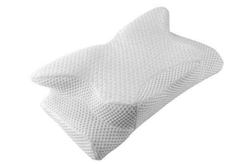 Cervical Pillow Contour Pillow for Neck and Shoulder Pain, Coisum Orthopedic Memory Foam Pillow Ergonomic Bed Pillow for Side Sleepers Back Sleepers, Neck Support Pillow with Hypoallergenic Pillowcase (Best Pillow For Neck Pain Reviews)