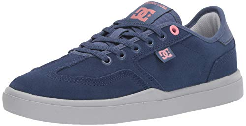 DC Women's VESTREY SE Skate Shoe, Blue/Grey, 7 M US