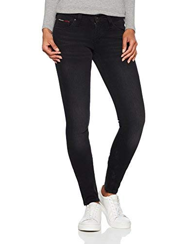 TALLA 31W / 32L. Tommy Jeans Mujer LOW RISE SKINNY SOPHIE DYCBST Vaqueros  skinny