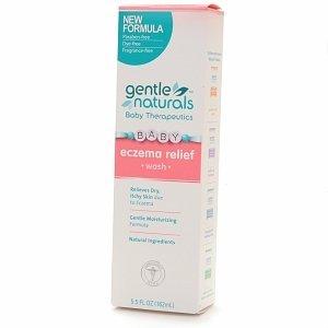 Doux Naturels bébé Therapeutics eczéma de bébé Relief parfumée pour le lavage - 5,5 onces liquides