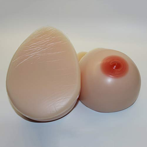 Jibo Simulazione Petto A Goccia Maschili Femminili Finto Di Forma Falso Postoperatorio Silicone Morbido E Puntelli Seno rrBdq